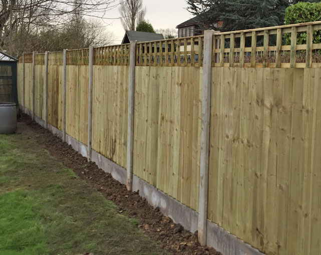 Close Board Fencing Panels Stoke