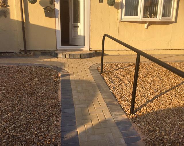 Commercial Handrails Stoke