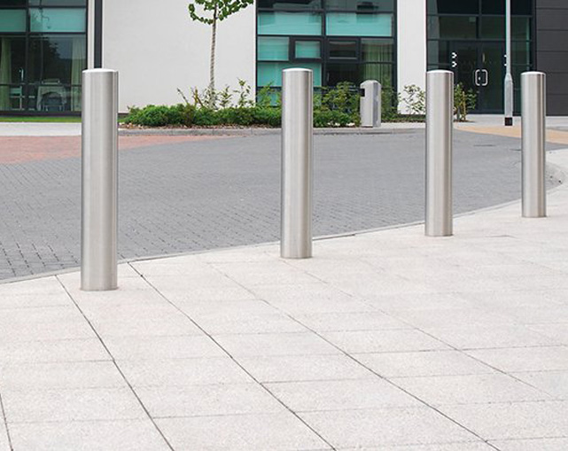 Stainless Heavy Duty Post Bollards Stoke