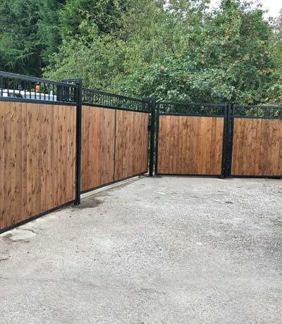 Manual and Automatic Sliding Gates Stoke