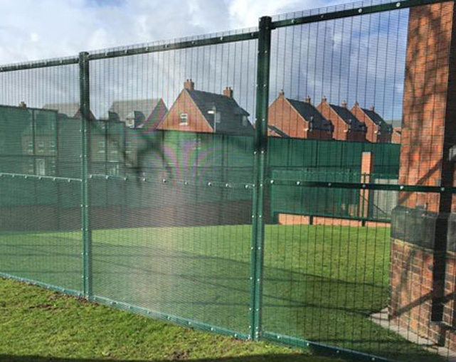 Sports Fencing Ball Courts Stoke