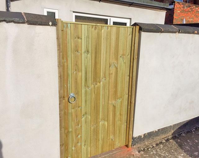 Standard Wooden Gates Stoke