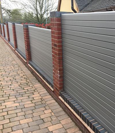UPVC Plastic Fencing Stoke