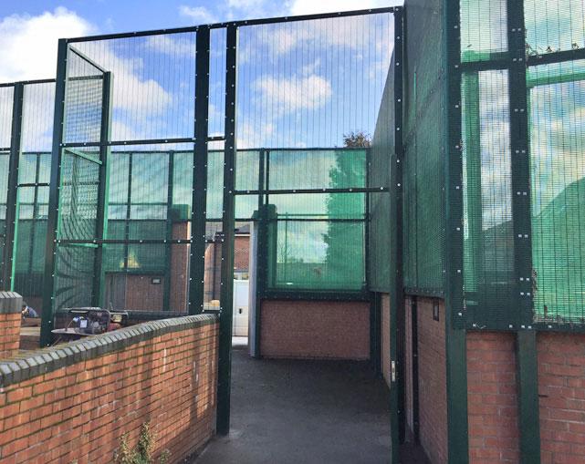 358 Mesh Fencing Crewe