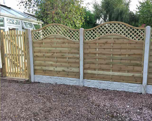 Fencing Stafford Fence Panels Stone In Staffordshire