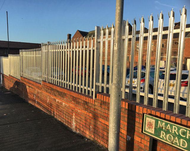 Palisade Fencing Crewe