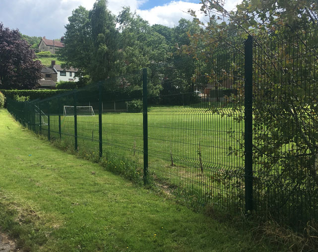 V Guard Mesh Fencing Crewe
