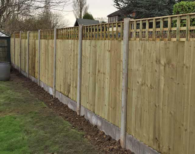 Close Board Fencing Cheshire