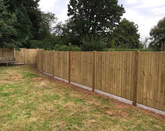 Panelling Fencing Cheshire