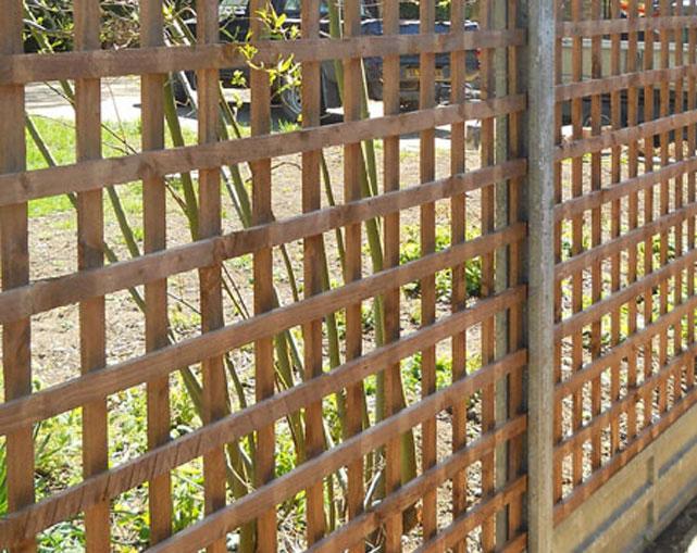 Trellis Fencing Macclesfield