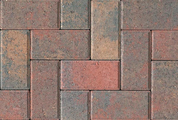 Autumn Red Block Paving Block Paving