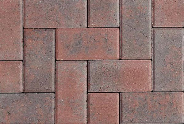 Rustic Red Block Paving Stoke on Trent