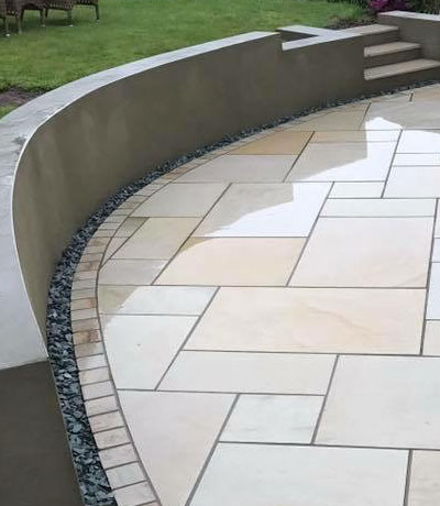 Indian Sandstone Paving Stoke