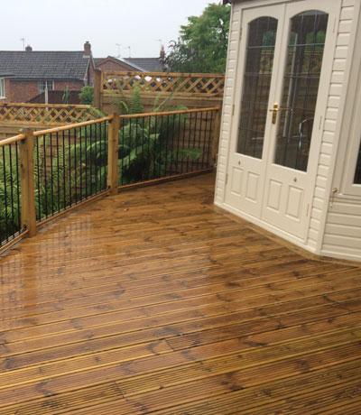 Timber Decking Stoke