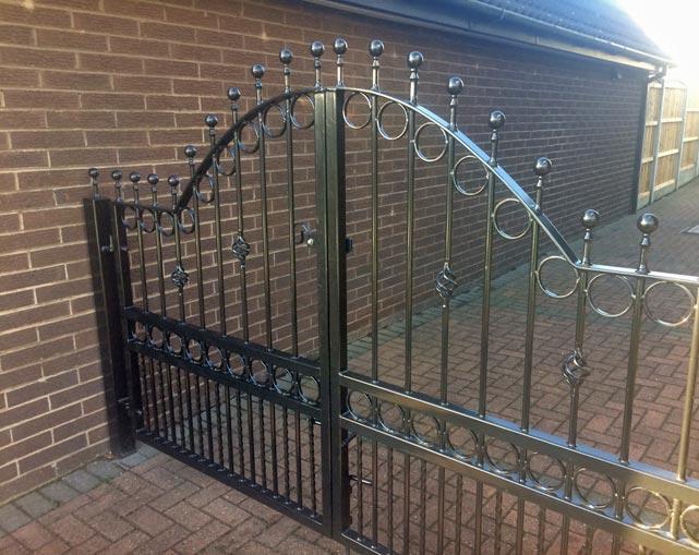 Metal Gates Installation Stoke on Trent