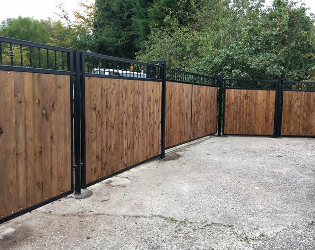 Metal & Timber Gates Stoke
