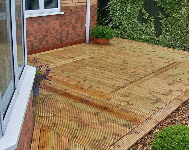 Timber Decking Nantwich