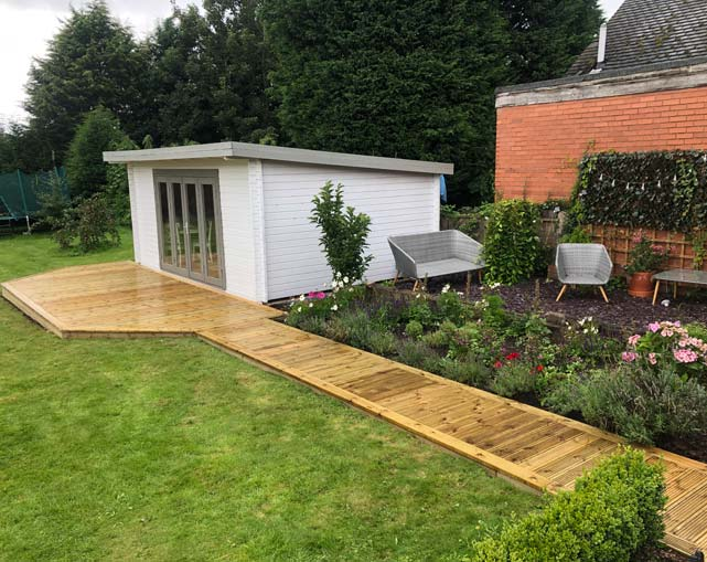 Timber Decking in Nantwich