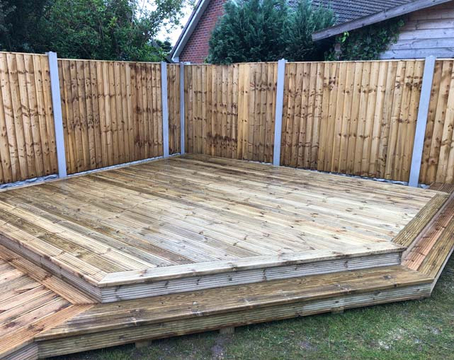 Timber Deck Installer Nantwich