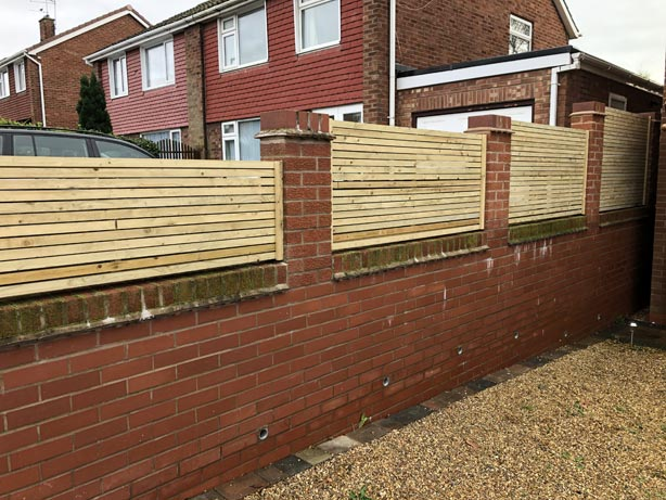Contemporary Fencing Stoke on Trent